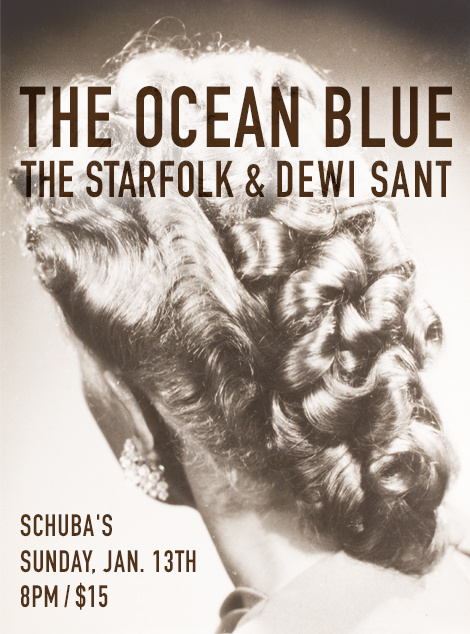 The Ocean Blue + The Starfolk + Dewi Sant in Chicago Jan. 13
